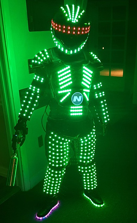 NytroMen Group the Ultimate LED Robots in Miami 3053039400